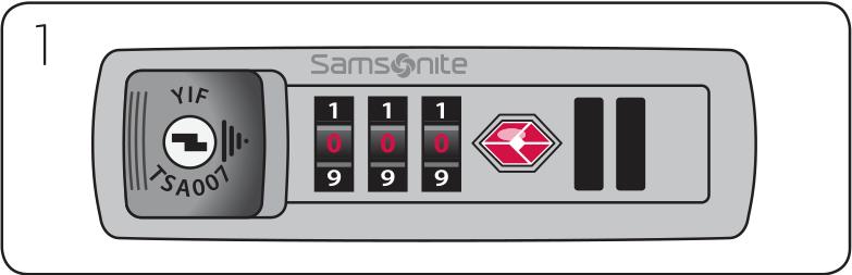 samsonite tsa lock instructions tsa007