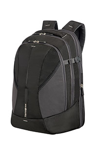 4MATION Expandable Laptop Backpack Black/Silver medium | Samsonite