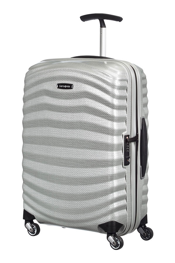 LITE-SHOCK 55cm Spinner Silver large | Samsonite