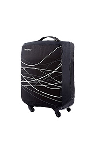 Small Foldable Luggage Cover Black medium | Samsonite