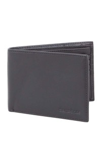 Wallet with Credit Card Flap Black medium | Samsonite