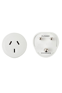 TRAVEL ACCESSORIES India Travel Adaptor White medium | Samsonite