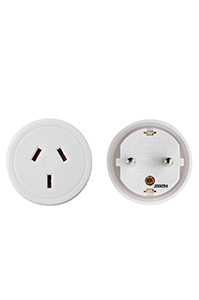 TRAVEL ACCESSORIES Europe Travel Adaptor White medium | Samsonite