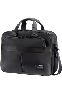 CITY VIBE Expandable Laptop Briefcase Jet Black medium | Samsonite