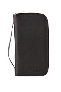 RFID Blocking Passport Wallet Black medium | Samsonite