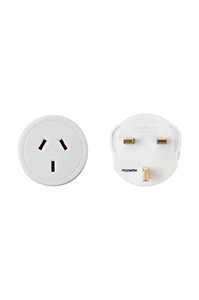TRAVEL ACCESSORIES UK and HK Travel Adaptor White medium | Samsonite
