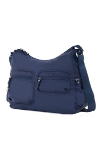 MOOVAL Medium Shoulder Bag Dark Blue medium | Samsonite