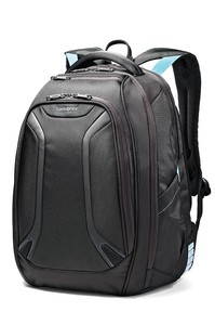 VIZAIR Laptop Backpack Black/Electric Blue medium | Samsonite