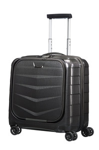 LITE-BIZ Rolling Tote Spinner Black medium | Samsonite