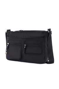 MOOVAL Horizontal Shoulder Bag Black medium | Samsonite