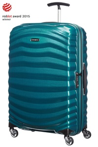 LITE-SHOCK 81cm Spinner Petrol Blue medium | Samsonite