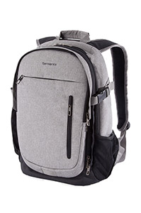 TROOPER Expandable Laptop Backpack Storm Grey medium | Samsonite