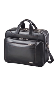 SAVIO LEATHER III Large Laptop Briefcase Black medium | Samsonite