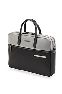 DIVINAL Medium Laptop Briefcase Silver/Black medium | Samsonite