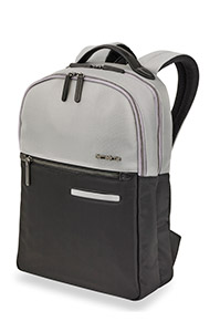 DIVINAL Laptop Backpack Silver/Black medium | Samsonite