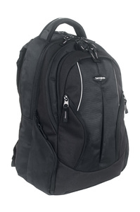 CASUAL Laptop Backpack with Honeycomb Support Backstraps Black medium | Samsonite
