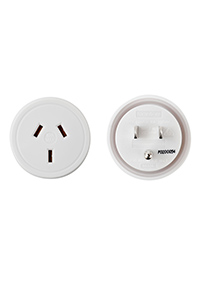 TRAVEL ACCESSORIES USA Travel Adaptor White medium | Samsonite