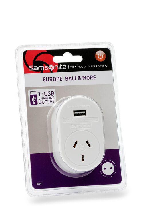 TRAVEL LINK ACC. Adaptor USB - Europe  hi-res   Samsonite