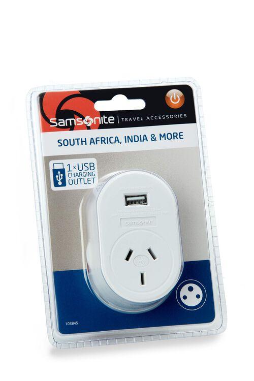 TRAVEL LINK ACC. Adptr USB - Sth Africa  hi-res   Samsonite