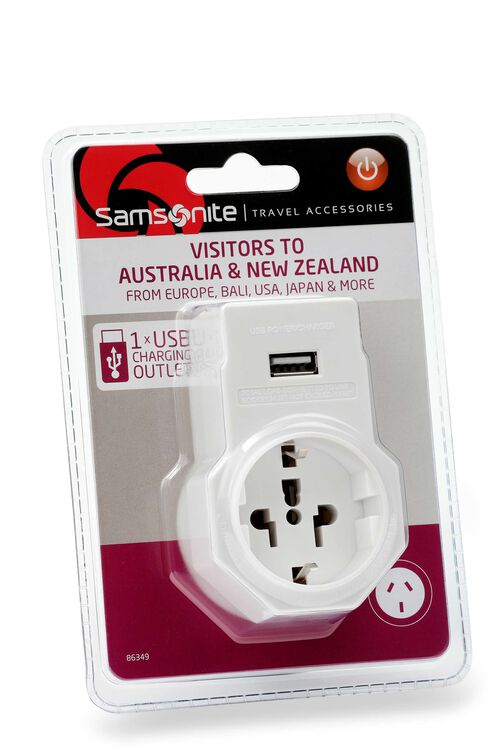 ELECTRONIC ACCESSORIES Adaptor USB US and Europe  hi-res | Samsonite