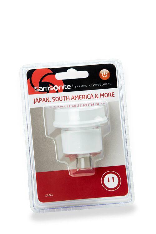 ELECTRONIC ACCESSORIES Adaptor Sth America and JPN  hi-res   Samsonite