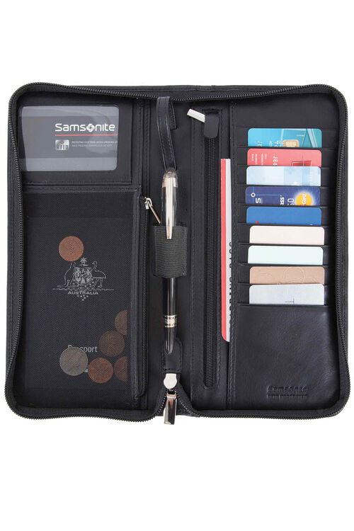 LEATHER WALLETS Executive Travel Wallet  hi-res | Samsonite