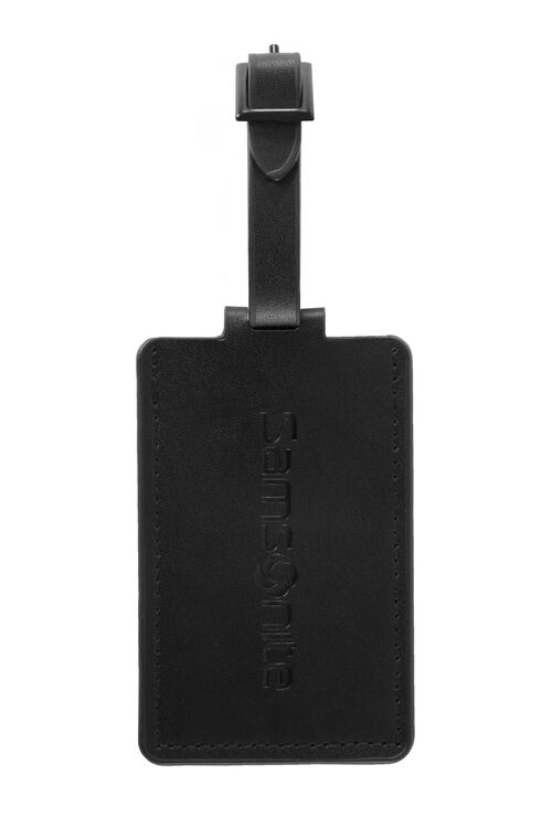 TRAVEL LINK ACC. 1PK LEATHER LUG ID TAG  hi-res | Samsonite