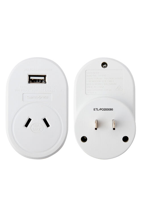 ELECTRONIC ACCESSORIES Adptr USB Sth America and JPN  hi-res | Samsonite