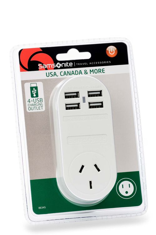 TRAVEL LINK ACC. Adpt 4xUSB (2 Amp) USA  hi-res | Samsonite