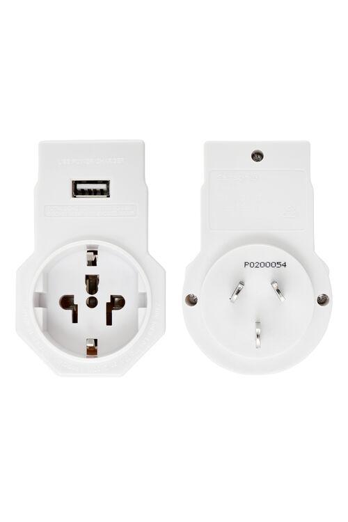 TRAVEL LINK ACC. Adaptor USB - US&Euro  hi-res | Samsonite