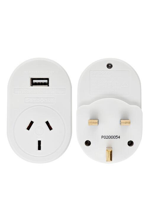 ELECTRONIC ACCESSORIES Adaptor USB UK and HK  hi-res   Samsonite