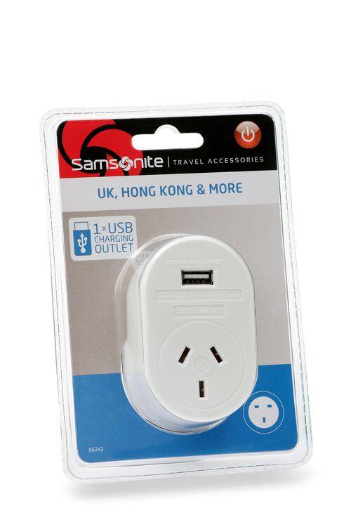 TRAVEL LINK ACC. Adaptor USB - UK & HK  hi-res | Samsonite