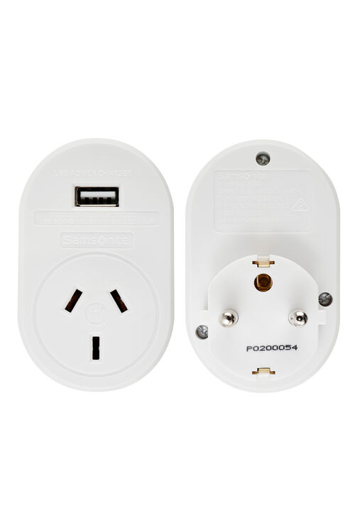 TRAVEL LINK ACC. Adaptor USB - Europe  hi-res | Samsonite