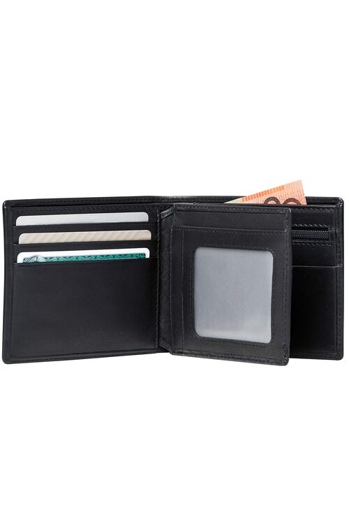DLX LEATHER WALLETS Wallet with Coin and ID7CC  hi-res | Samsonite