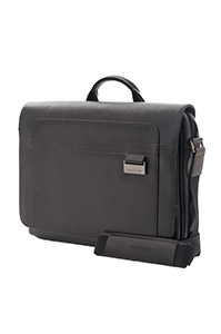 SAVIO LEATHER IV Messenger Bag Black medium | Samsonite
