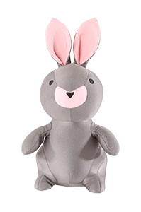 Convertible Rabbit Travel Pillow Pink/Grey medium | Samsonite