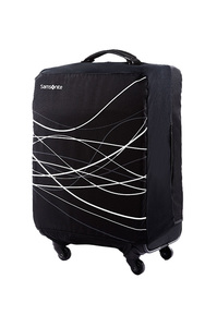 Large Foldable Luggage Cover Black medium | Samsonite