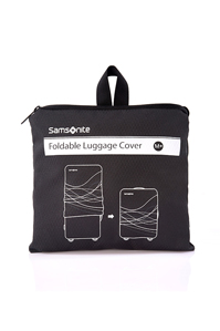 Luggage Accessories Foldable Luggage Cover M+ BLACK medium | Samsonite
