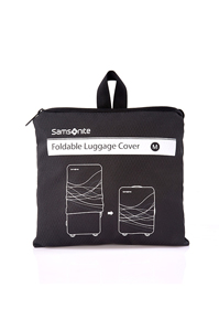 Medium Foldable Luggage Cover Black medium | Samsonite