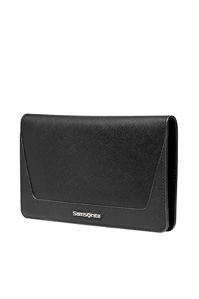 Promenade Passport Cover Black medium | Samsonite